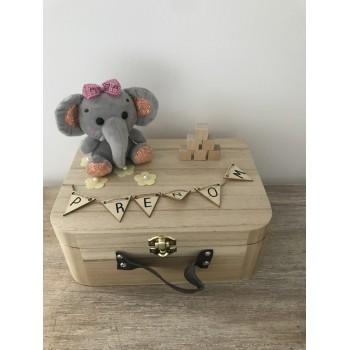 Coffret de naissance éléphant