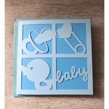 Carte de naissance baby