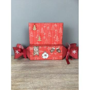 Boîte Cadeau Noël et sa carte