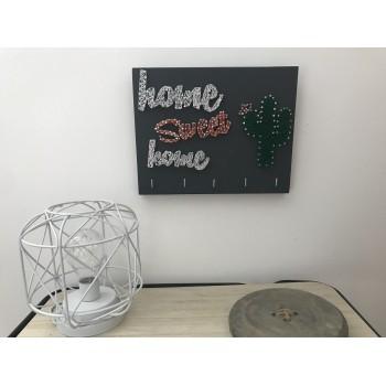 Porte clés Home sweet home