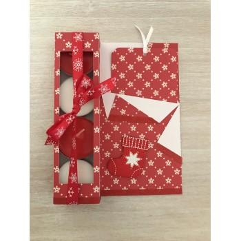 Carte cadeau rouge