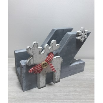 Porte serviettes gris renne